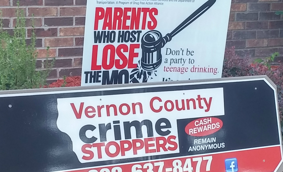 Vernon County Crime Stoppers | Cash Rewards – Remain Anonymous
